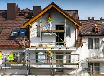 Pintura térmica para fachada.
